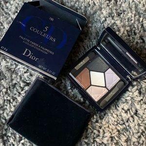 DIOR 5 color eyeshadow 790 Night Dust